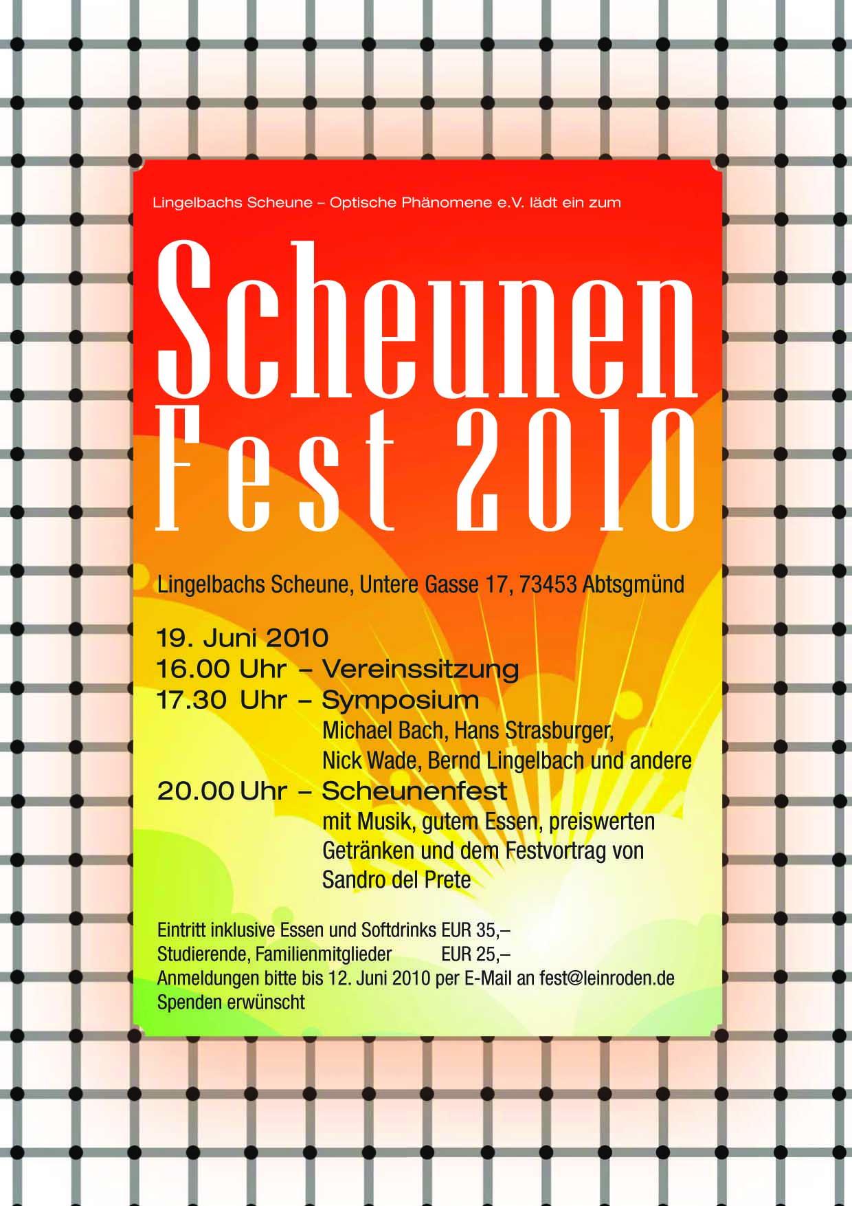 Das Scheunen-Fest 2010