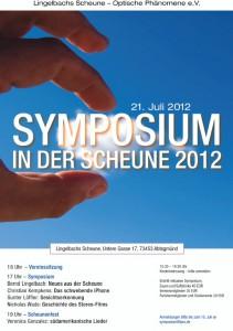 Symposium Scheune 2012