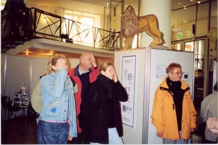 Besucher Stand science street no 10