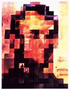 Lincoln-Portrait von Salvadore Dali