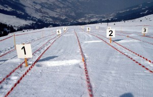 Skibrillentest in Valmorel